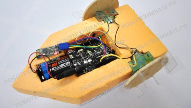 Как сделать радиоуправляемый катер на Ардуино