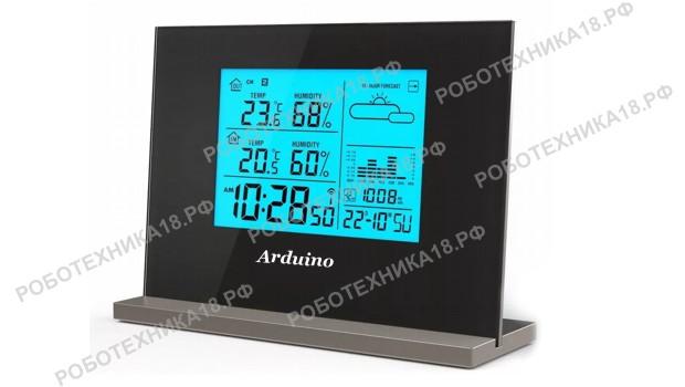 Метеостанция с дисплеем LCD 1602 и DHT11