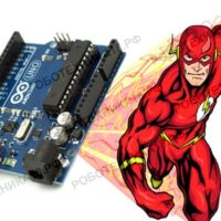 "<span class=""title"">Игра на реакцию с платой Arduino</span>"