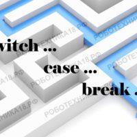 Arduino switch case