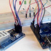 Подключение модуля HR911105A к Arduino
