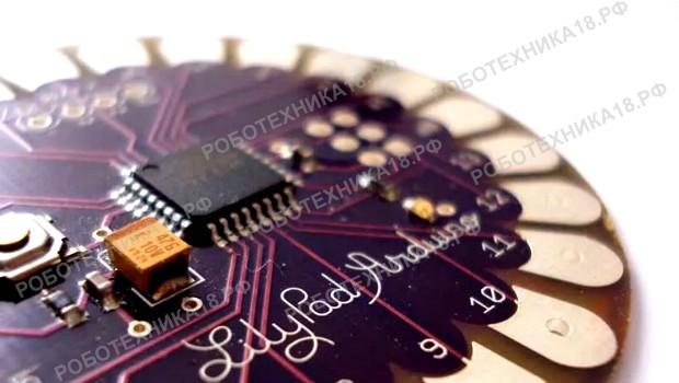 Arduino LilyPad: распиновка платы, примеры проектов