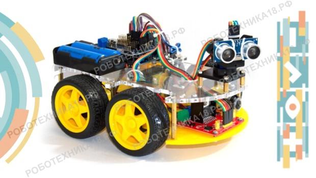 Набор детей в группу робототехники на Ардуино