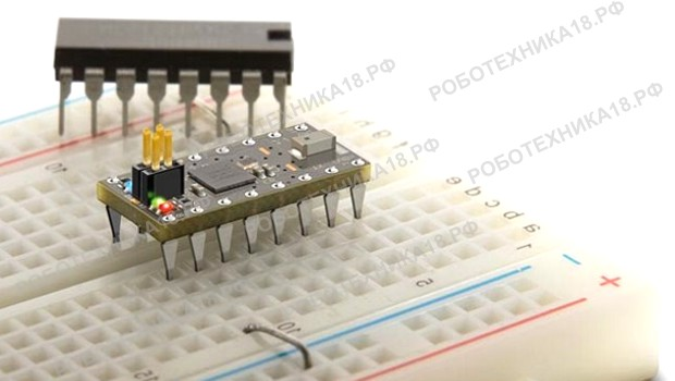 Соединение радиодеталей на макетной плате без пайки